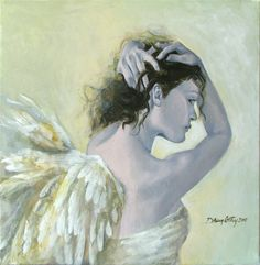 Shop for angel art from the world's greatest living artists. All angel artwork ships within 48 hours and includes a money-back guarantee. Choose your favorite angel designs and purchase them as wall art, home decor, phone cases, tote bags, and more! Angeles, Angel Guide, I Believe In Angels, Angels Among Us, Angels In Heaven, Heavenly Angels, Fantasy Paintings, Angel Art, Various Artists