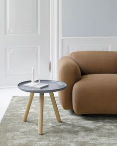 Tablo is a minimalistic table without redundant details. The table is available in both a large and small size in seven different colors combinations and with its simple mode of expression it is suitable for almost any home. Warm Grey, Decoration, Copenhagen, Simple Designs, Color Combinations, Ottoman, Minimalist, Living Room, Interior Design