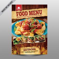 Steak Menu, Beef Steak, Food Poster Design, Menu Design, Mexican Food Recipes, Snack Recipes, Banners, Menu Holders, Restaurant Flyer