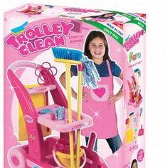 עגלת ניקיון לילדים | צעצועים ומשחקים