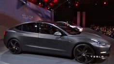 Tesla Model 3 Grey Matte