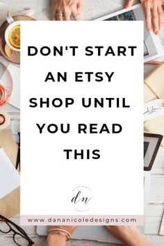 Thinking of starting an Etsy shop? You might reconsider your plan after you read this. Here's everything I wish I knew before I started my Etsy shop, along with some tips and tricks to help you avoid the same pitfalls. Craft Business, Business Tips, Business Marketing, Business Motivation, Business Planning, Creative Business, Internet Marketing, Media Marketing, Online Business