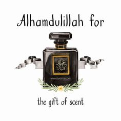 """180: Alhamdulillah for the gift of scent  #AlhamdulillahForSeries . .   """"Prophet (ﷺ) never used to refuse (a gift of) scent."""" [Sahih al-Bukhari 5929]"""