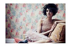 Doc. N.244: The Discreet Charm Of Mauvais Gout (Document Journal).  fall/winter 2013.   Nathaniel Goldberg - Photographer.   James Valeri - Fashion Editor/Stylist.   Rudi Lewis - Hair Stylist.   Francelle Daly - Makeup Artist.   Kati Nescher - Model.