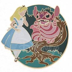 DISNEY PINS STITCH as CHESHIRE CAT LE 1,000