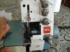 92.- Como coser con maquina overlock. Iztac Madrigal