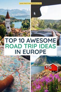 Best Road Trips in Europe: Top 15 European Road Trip Ideas for 2020 European Road Trip, European Travel Tips, Road Trip Europe, Road Trip Destinations, Europe Travel Guide, Road Trips, Travel Guides, Bucket List Europe, Bucket Lists