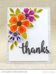 Flashy Florals Thanks