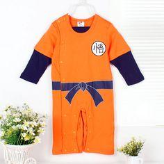 ¿Tienes algún amigo que acaba de tener un hijo? Aprovecha y regálale este baby de Son Goku de Bola de dragón, que seguro que mucha más gente le va a regala