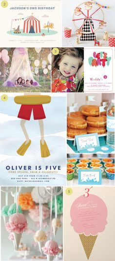 Fun and Easy Kid's Party Themes | Julep