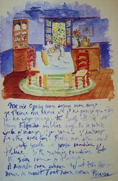 ¤ artful mail from Picasso to one of his first loves