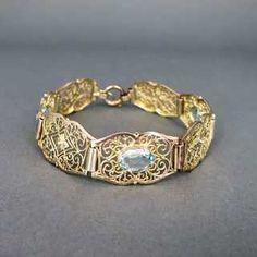 Antiquitäten & Kunst Gerade Art Deko Silber Ring Böhmischer Granat Grade Produkte Nach QualitäT Schmuck & Accessoires