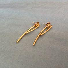 Madewell stembed earrings Madewell earrings. No tags but never used Madewell Jewelry Earrings