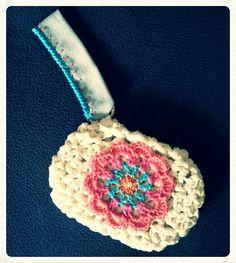 handmade crochet pochette