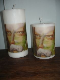 Made to order Chiang mai art candle