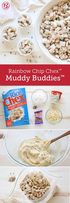 Crunchy Chex™ Muddy Buddies™ gets a seriously sweet upgrade with ...