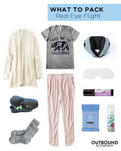 What to Pack: Red-Eye Flight | Outbound & Company