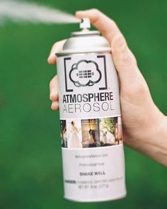 Atmosphere Aerosol is a new aerosol spray for photographers and filmmakers that essentially serves as a fog machine that you can easily carry around in you