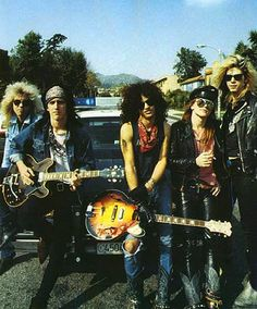 Guns and Roses. old school.