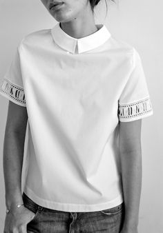 Aroze Poplin Shirt - 100 % Cotton - Maud Heline SS15 - Made in NYC -