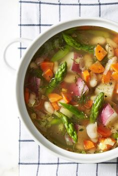 Spring Minestrone - GoodHousekeeping.com