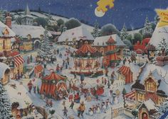 Ravensburger's Limited Edition Christmas Time  1000 piece jigsaw puzzle features artwork by Roy Trower.