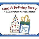 This Long Vowel A CVCe Picture to Word Sort gives your students a chance to practice reading words with Long Vowel A CVCe patterns and matching the...