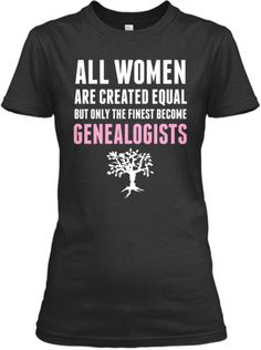 Genealogists LIMITED! | Teespring