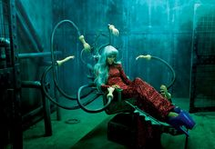 Photographer Tejal Patni takes the concept of new beginnings to conceptualize a 2012 calendar for fashion brand Splash. Heavily influenced by B-movie sci-fi clichés.