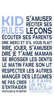 KID RULES