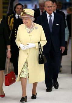 Queen Elizabeth II and Prince Philip, Duke of Edinburgh visit the Emirates Arena and the Sir Chris Hoy Velodrome in Glasgow as they view venues for the upcoming Commonwealth Games on 02.07.2014 in Glasgow, Scotland, UK.