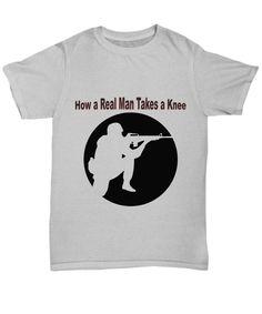 Patriotic American Soldier or Veteran Statement T-Shirt