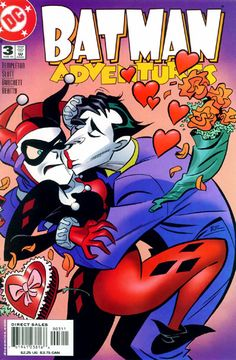Batman Adventures Series) 3 DC Comic Book modern era covers Batman Dark Knight Gotham New 52 Joker Harley Quinn Arte Dc Comics, Batman Comics, Joker Batman, Comic Book Characters, Comic Books, Timmy Time, D Mark, Bruce Timm, Joker And Harley Quinn