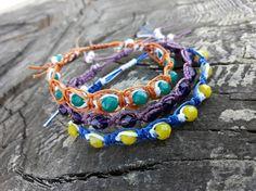 #micromacrame, #handmadebracelet, #handmadeaccessories, #accessories, #beadedbracelet, #bracelet, #evapolart, #handmade Handmade Bracelets, Handmade Jewelry, Beaded Jewelry, Beaded Bracelets, Micro Macrame, Handmade Accessories, Charmed, Jewels, Art