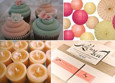Beautiful pastel peach Inspiration Board