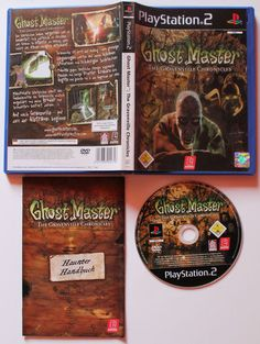 Ghost Master The Gravenville Chronicles für Playstation 2 in OVP