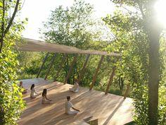 Gallery Outdoor Yoga Platform