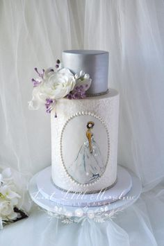 Bridal Shower Cake by Stephanie - http://cakesdecor.com/cakes/244925-bridal-shower-cake