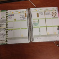 """""""What this week looks like so far in my @erincondren #planner love the @apple washi for Monday's announcement!"""""""