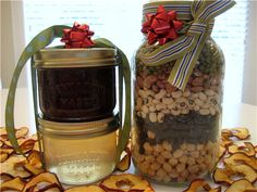 Gifts in a jar.