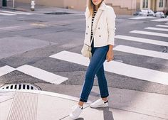 How to Wear White Sneakers | White Sneaker Outfits - PureWow