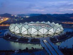 Shenzhen universiade sports center by Conceptlicht Gmbh (Shenzen, Canton, China)