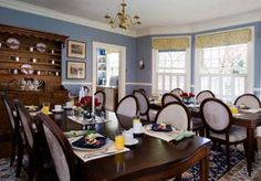 bed and breakfast dining room - Google Search