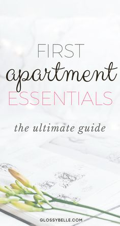 The Ultimate Guide: First Apartment Essentials – Glossy Belle Moving out into your first apartment? Here is a list of the important first apartment essentials you'll need to be ready to move out on your own. First Apartment Essentials, College Essentials, Bathroom Essentials, Living Essentials, First Home Essentials, First Apartment Checklist, First Apartment Cleaning Supplies, Kitchen Essentials List, Makeup Essentials