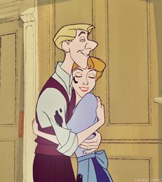 This just occurred to me...they look like Anna and Kristoff like 20 years down the road...
