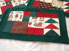 Christmas Placemats by Ali Bear, via Flickr