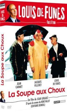 La Soupe aux choux DVD ~ Louis de Funès