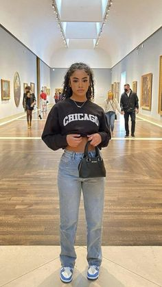 Swaggy Outfits, Baddie Outfits Casual, Cute Swag Outfits, Stylish Outfits, Big Shirt Outfits, Tomboy Fashion, Teen Fashion Outfits, Retro Outfits, Streetwear Fashion