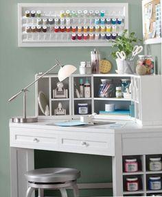 Cómo armar tu propio rincón o habitación para manualidades