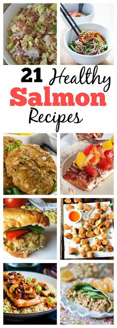 Is Salmon not the best source of protein ever? Am I right, or am i right? Well if you love salmon as much as I do, you'll love these 21 Healthy Salmon Recipes from awesome bloggers ranging from salmon burgers to chowder and everything in between!